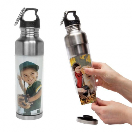 15oz. Stainless Steel WATER BOTTLE
