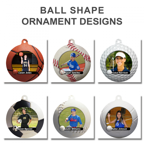 BALL SHAPE METAL ORNAMENTS