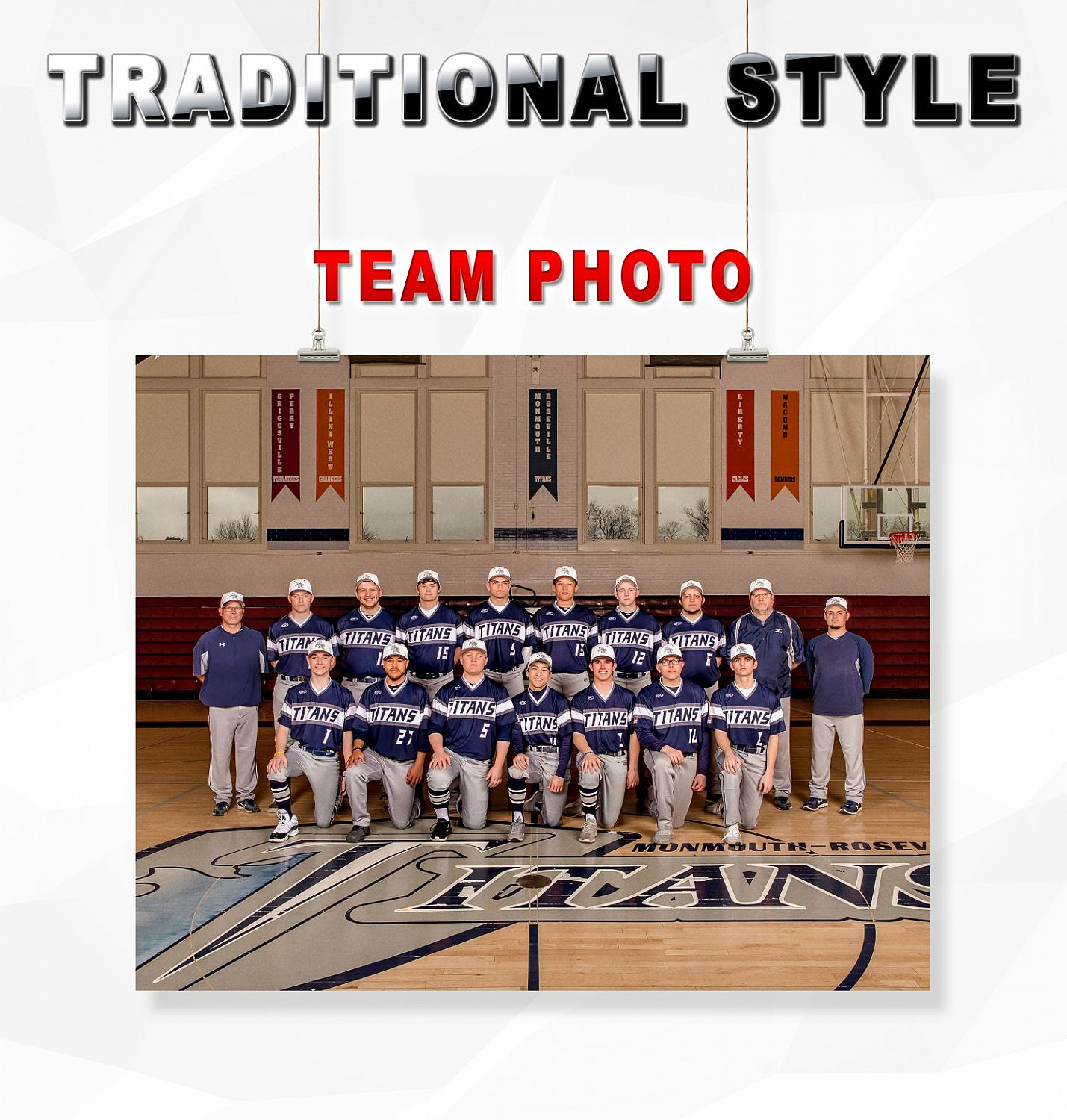 TRADITIONAL STYLE TEAM PHOTO