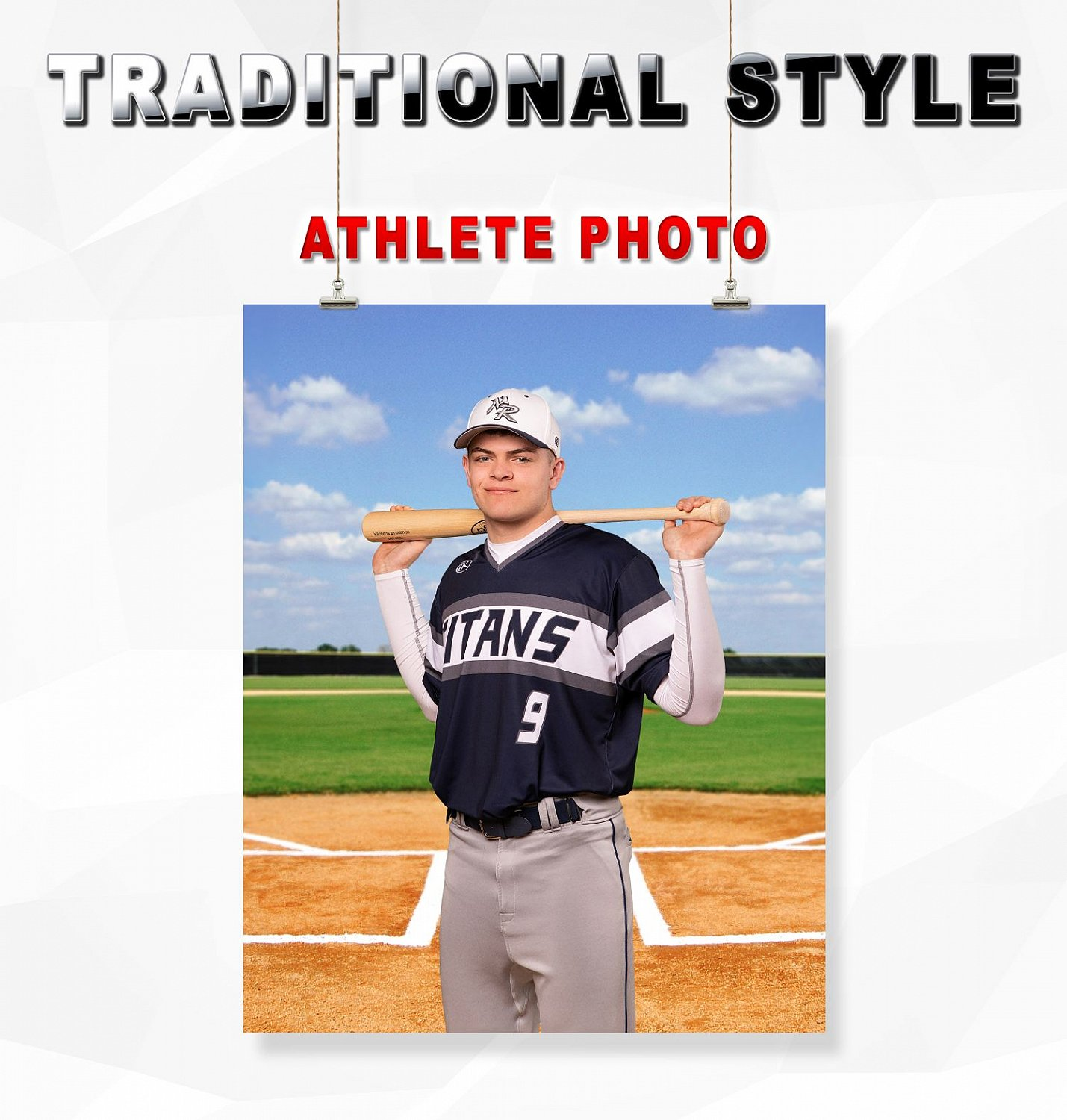 TRADITIONAL STYLE ATHLETE PHOTO