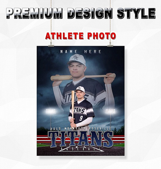 PREMIUM DESIGN STYLE ATHLETE PHOTO