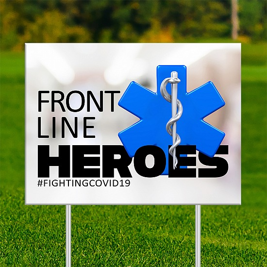 18x24 - FRONT LINE HEROES EMS 1