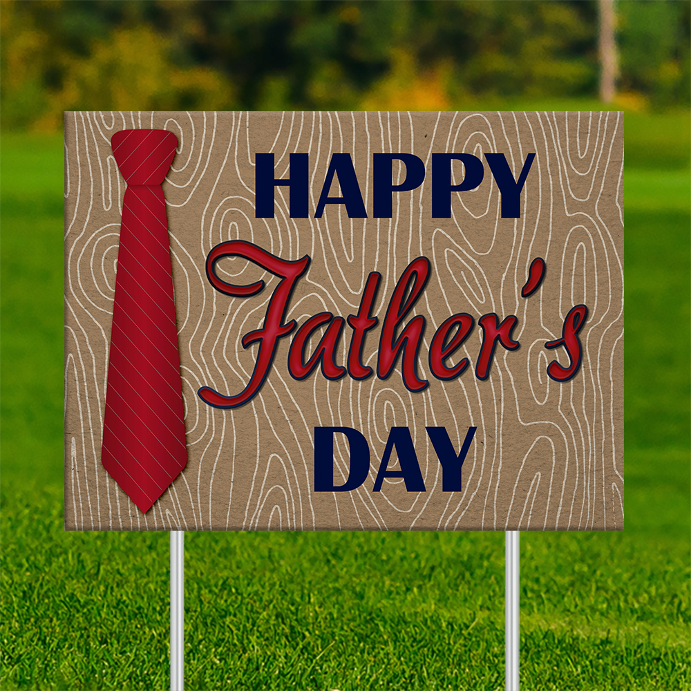 18x24 - FATHER'S DAY Red Neck Tie 001 | 18x24_-_FATHERS_DAY_Red_Neck_Tie_001.jpg